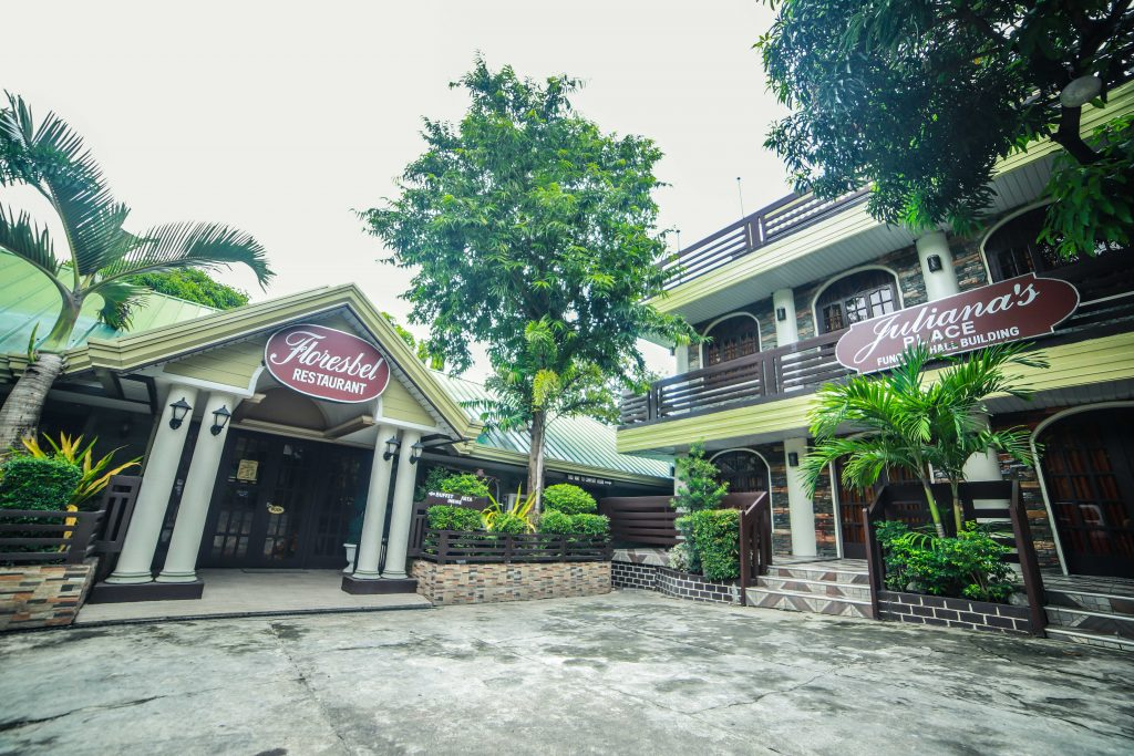 OUTSIDE RESTAURANT AND FUNCTION HALL